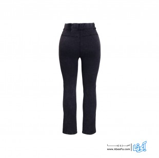 شلوار جین زنانه مدل NJ-MB82040-TLI-ZO رنگ زغالی