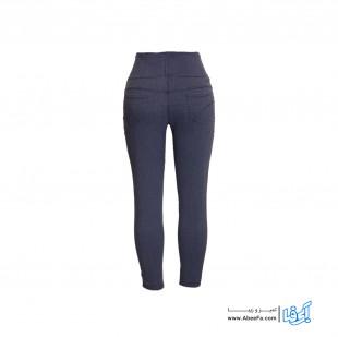 شلوار جین زنانه مدل RZ-GH12068-TLI-KHA.GEN رنگ خاکستری