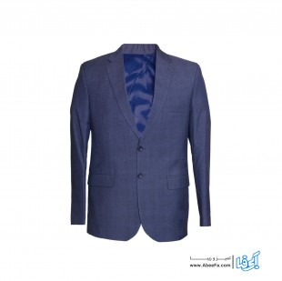 کت و شلوار مردانه مدل NJ-MB82590-4KH-AB.T رنگ آبی تیره