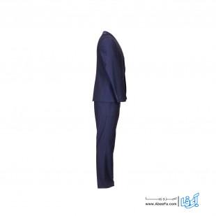 کت و شلوار مردانه مدل NJ-MB82400-SATAN-S رنگ سورمه ای
