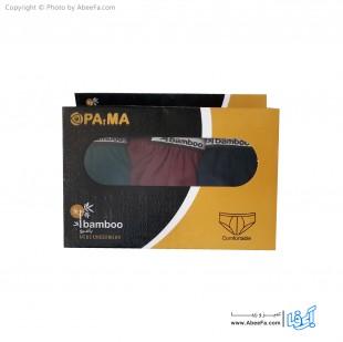 شورت اسلیپ مردانه پاما مدل BAMBOO بسته 3 عددی