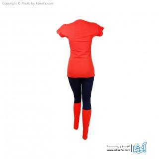 ست تی شرت شلوار زنانه تکین مدل 047