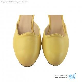 کفش زنانه مدل 1062 لیمویی