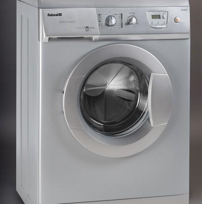 ماشین لباسشویی آبسال نقره ایAES7513