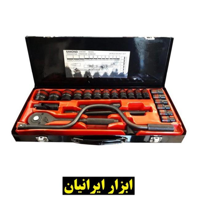 جعبه بکس 24 پارچه فشار قوی سیموند