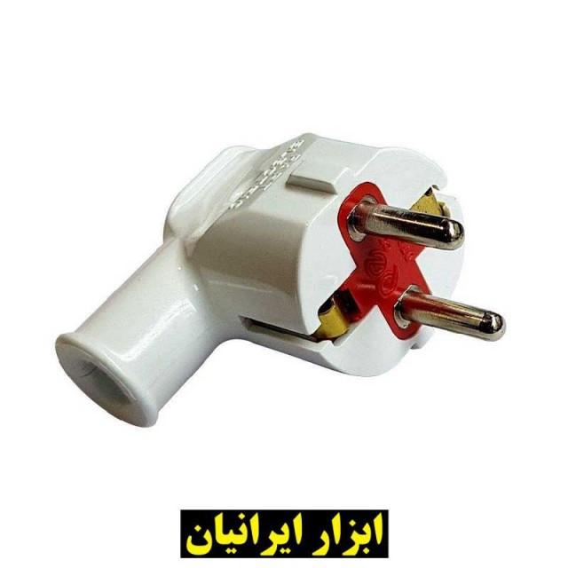 دو شاخه برق خانگی پارت الکتریک مدل PE5518