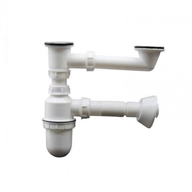 سیفون دو لگن سینک ظرفشویی کد: SSH-013