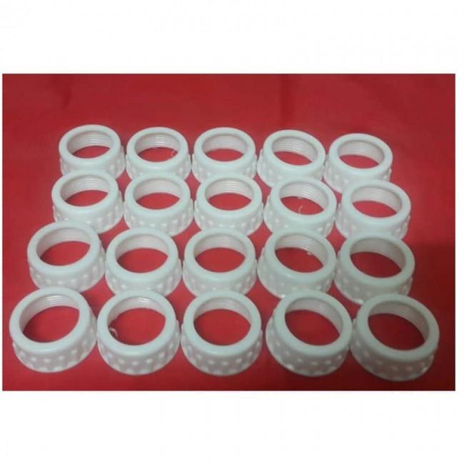 مهره سیفون سایز ۴ بسته ۲۰ عددی کد: OSMS-002