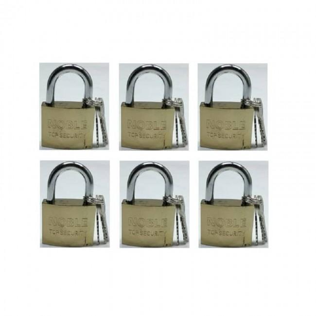 قفل آویز ۵۰ نوبل Noble بسته ۱۲ عددی کد OSGF-001