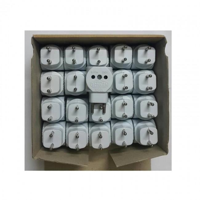 سه راهی کپل برق چینی بسته 20 عددی OESK-001