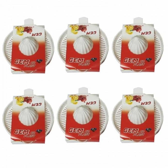 آب میوه گیری دستی ۶ عددی OHAM-001