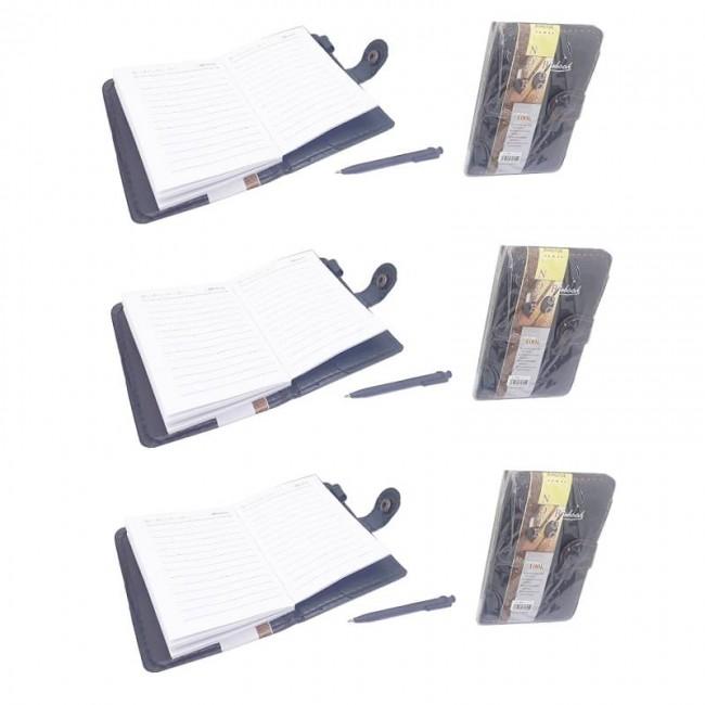 دفترچه یادداشت خودکار دار سلفونی ۶ عددی OODY-001