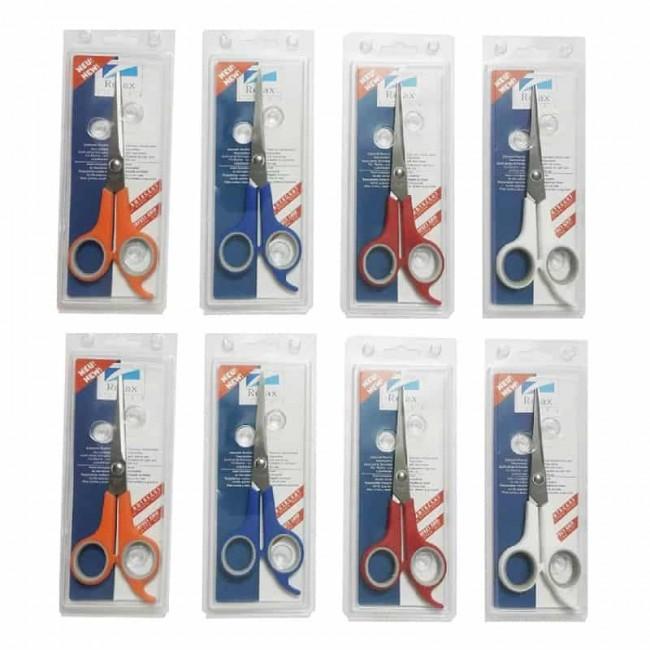 قیچی آرایشی دم دار ریلکس ۸ عددی OHGC-012