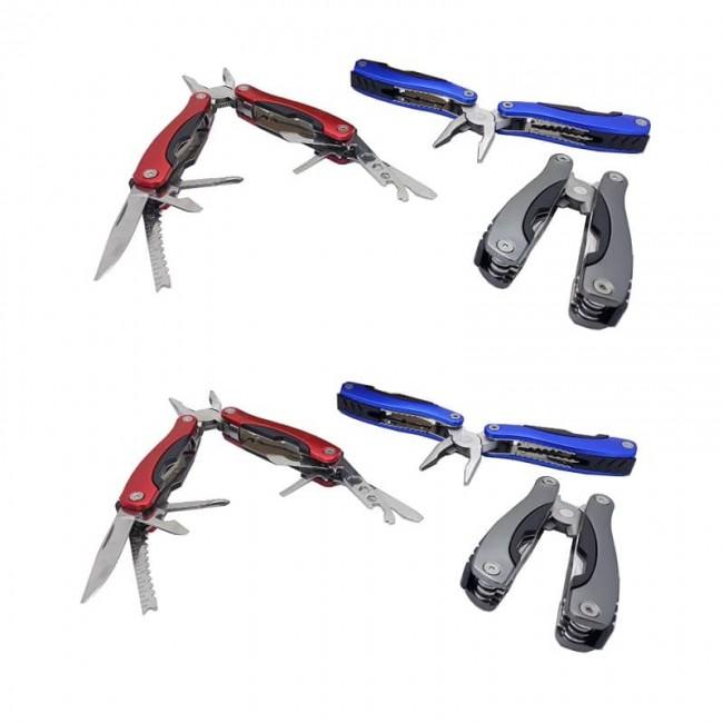 ست ابزار - انبردست تاشو چند کاره کیفی ۱۶ سانتی ۶ عددی OHAC-004