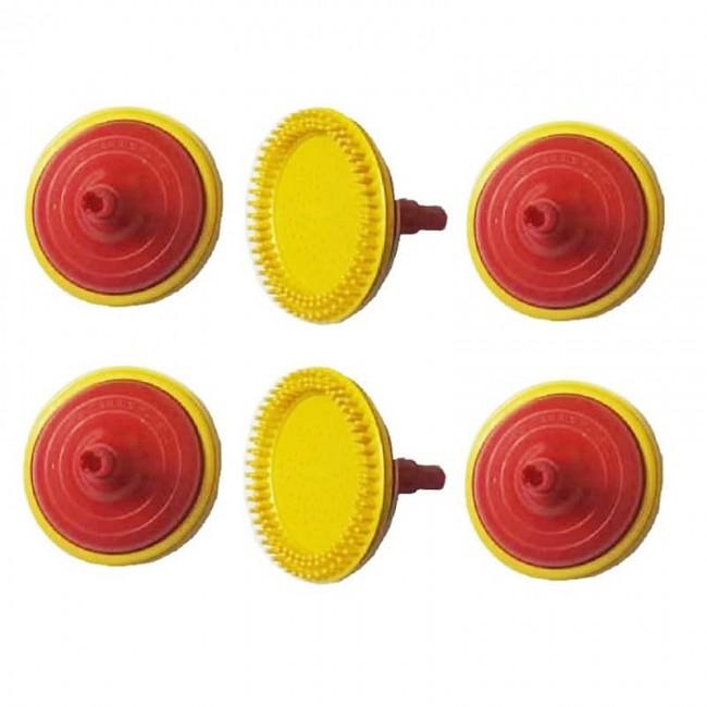 سر شیلنگ پلاستیکی ۶ عددی کد OHSS-001