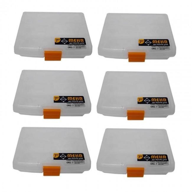 ارگانایزر ۷ اینچ Mehr مهر پلاستیک ۶ عددی OSOR-001