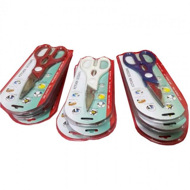 قیچی آشپزخانه سری Kitchen Scissors مدل ساوی ۱۲ عددی OHGC-005