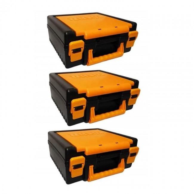 جعبه دریل و فرز ۳ عددی Mehr Plastic مهر  OAJA-003