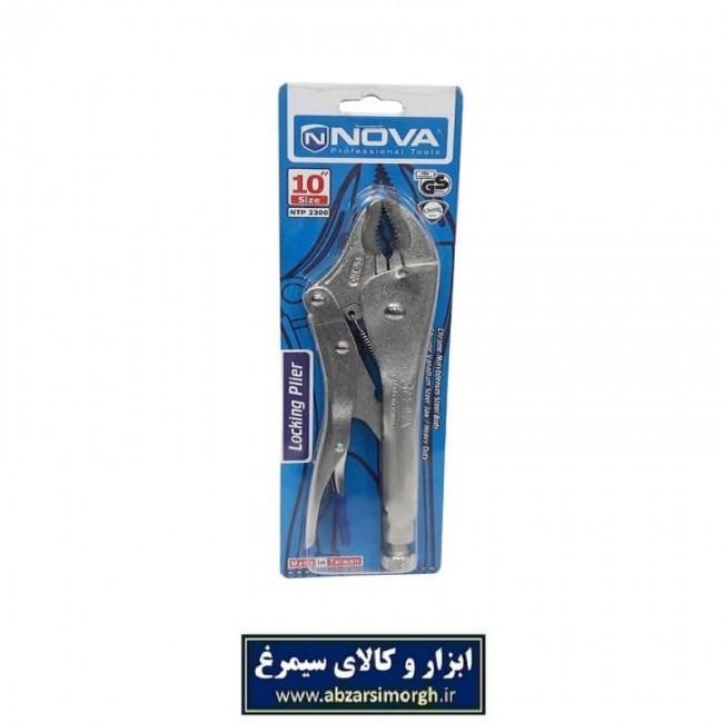 انبر قفلی 10 اینچ نوا Nova مدل NTP 2300 تایوانی AAG-004