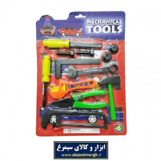 ست ابزار اسباب بازی مکانیکی کودکان ۱۲ عددی سایز متوسط TAB-001