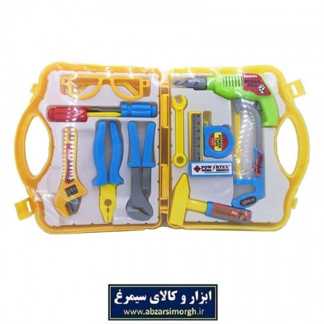 ابزار اسباب بازی کیفی وکیوم ۱۲ عددی TAB-006