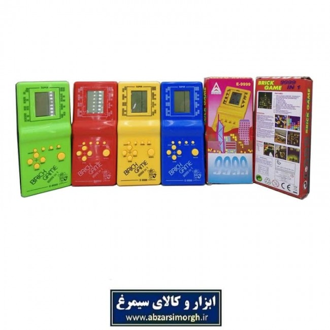 آتاری اسباب بازی دستی Brick Game باتری خور TAT-001