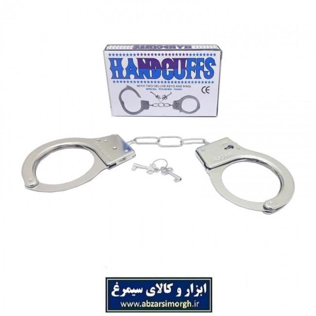 اسباب بازی دست بند یا دستبند پلیس فلزی TDB-001