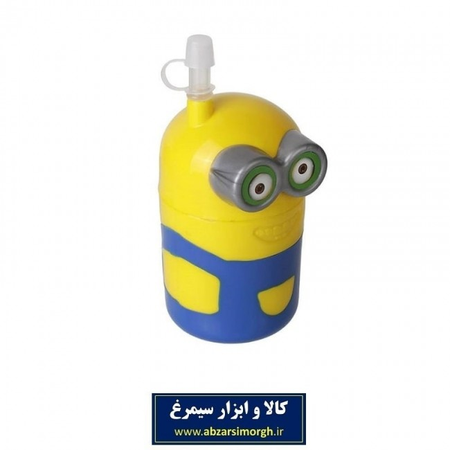 لیوان نی دار طرح شخصیت کارتونی Minions مینیون OLV-001