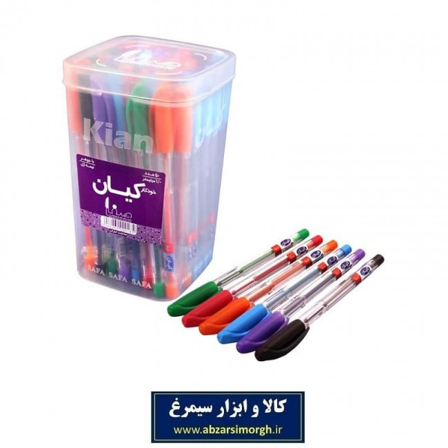 خودکار رنگی کیان Kian نوک ۱ میلیمتر