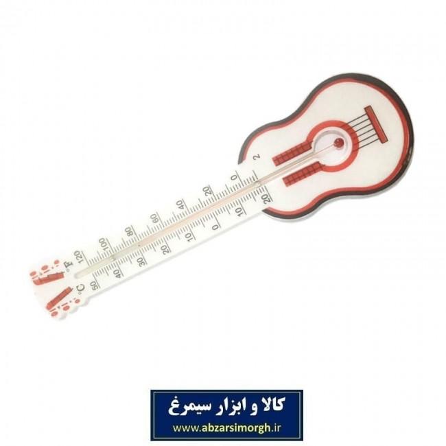 دماسنج پلاستیکی طرح ساز گیتار ۳۰ سانت MDS-001