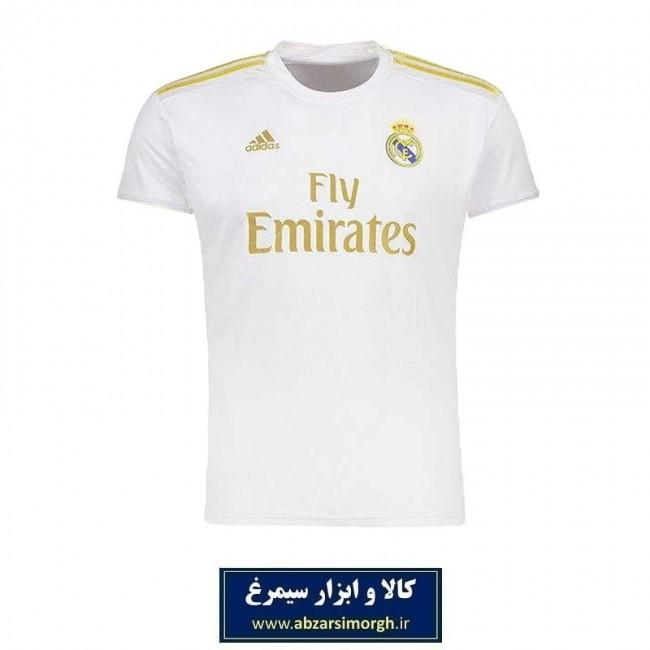 پیراهن ورزشی مردانه طرح تیم Real Madrid رئال مادرید