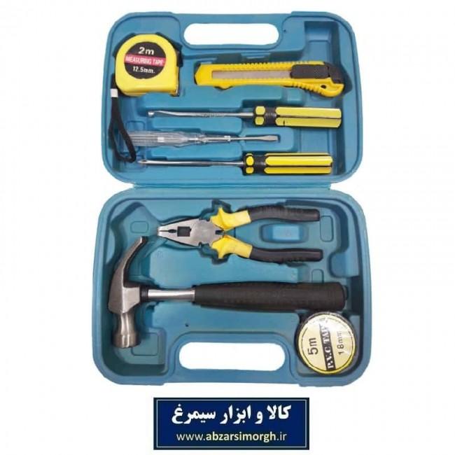 مجموعه ابزار ۹ عددی ابزارآلات عمومی AKT-001