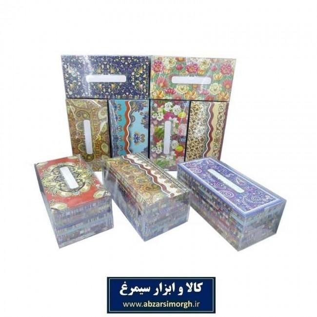 پاکت پول مقوا گلاسه طرح سنتی بسته ۱۰ عددی HPA-002