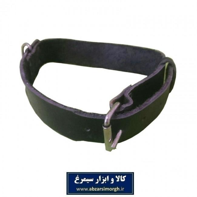 قلاده چرم مشکی اعلاء HPS-001