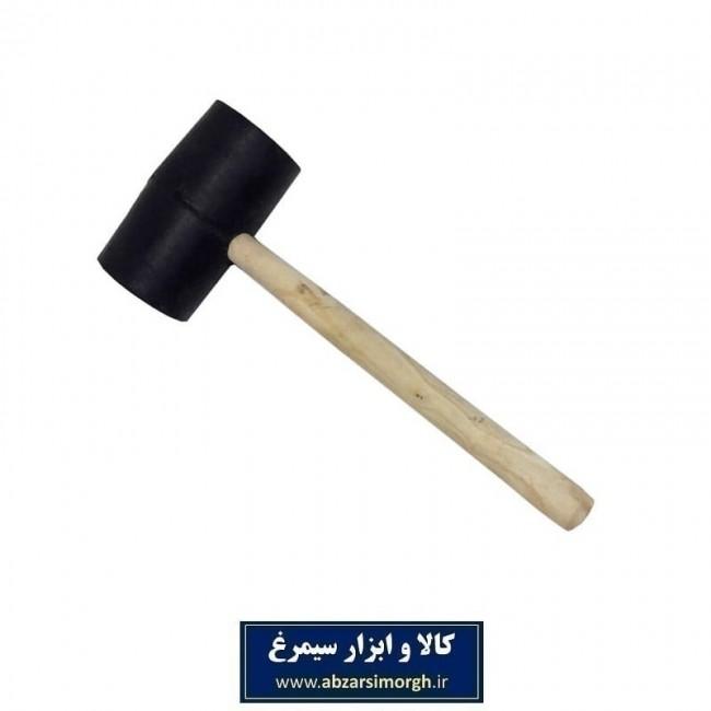 چکش لاستیکی دسته چوبی ACH-006