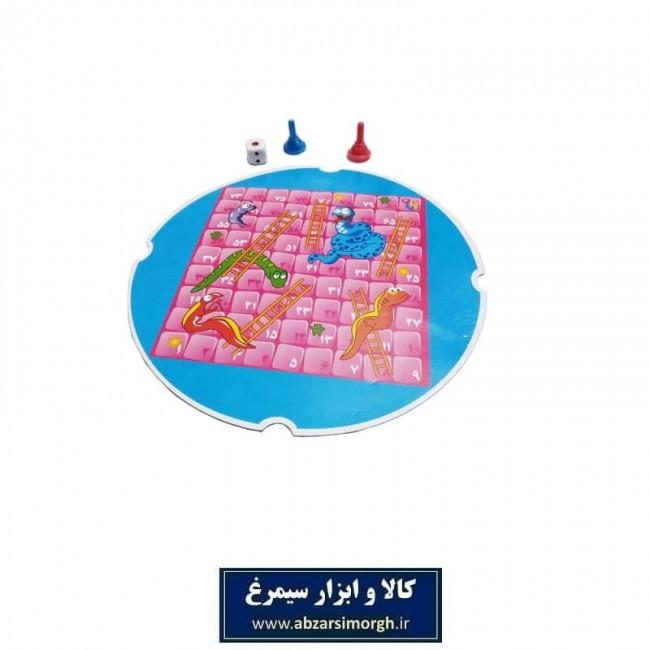 بازی مار و پله پلاستیکی ۱۵ سانت TBF-002