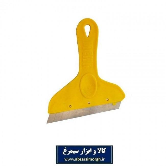 کاتر شیشه پاک کن مهر پلاستیک ASP-001