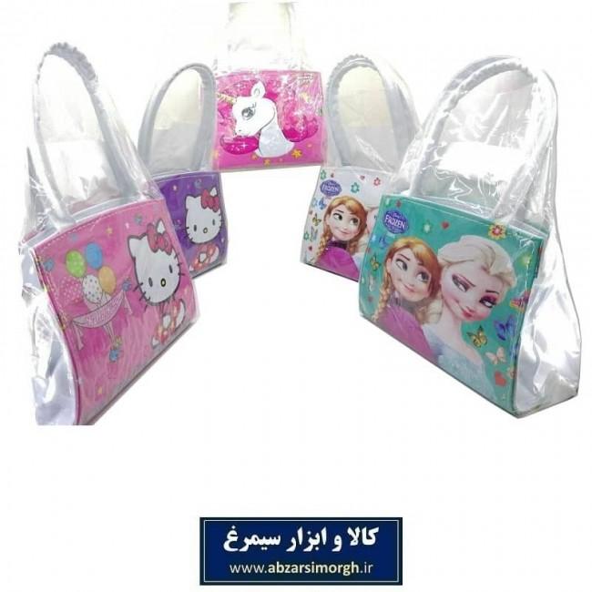 کیف دستی دخترانه ورنی طرح های کارتونی HKF-016