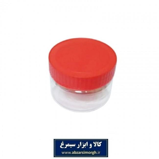 ظرف پلاستیکی درب دار جار ۲۰۰ سی سی ۱۰ عددی PZJ-002
