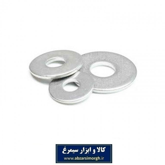 واشر فلزی شماره ۲۰×۴ دور پهن SIT بسته 20 عددی SWF-002
