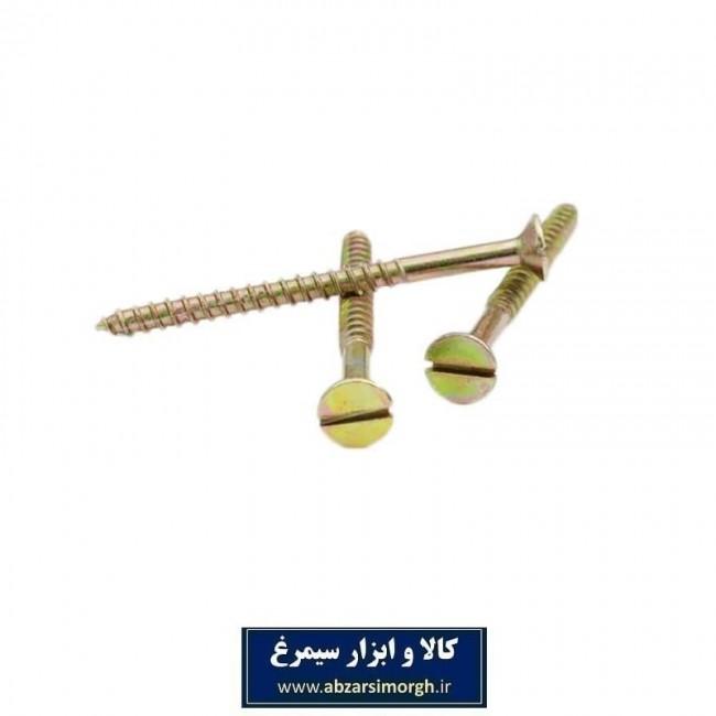 پیچ چوب 12 * 3 (7.6 سانت) بسته ۱۰ عددی SPK-005