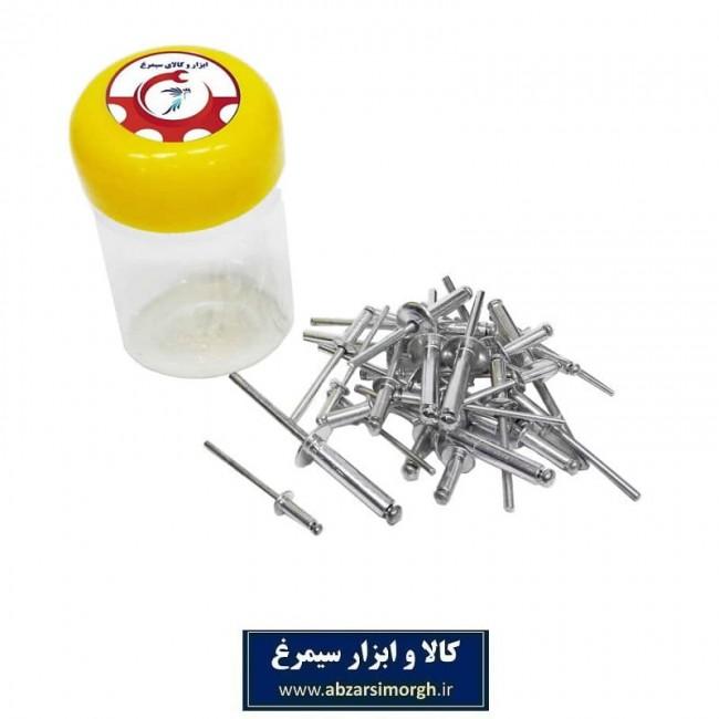 مجموعه ۳۱ عددی میخ پرچ ابزار سیمرغ SMA-014
