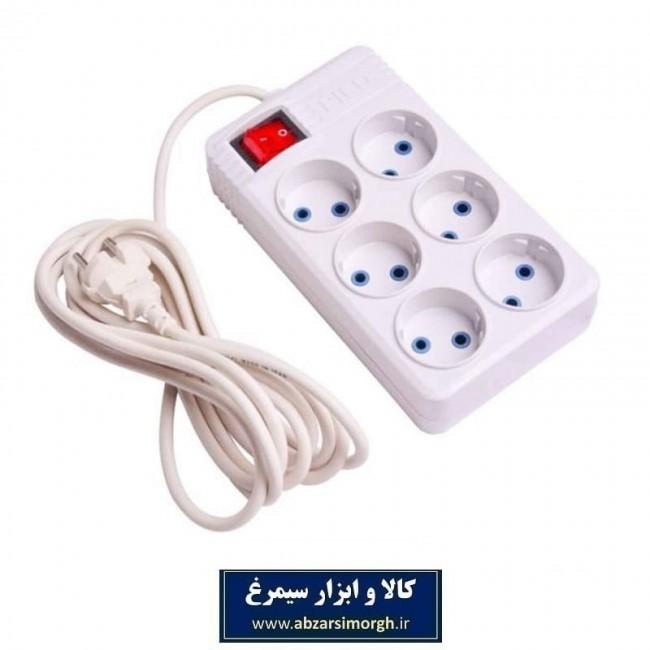 رابط برق 6 خانه Picco پیکو ESS-003