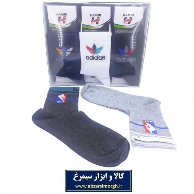 جوراب مردانه نیم ساق حمید مدل Puma پوما CJM-001