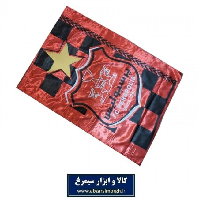پرچم هواداری باشگاه فوتبال پرسپولیس چاپ سیلک + پیکسل هدیه VPC-001