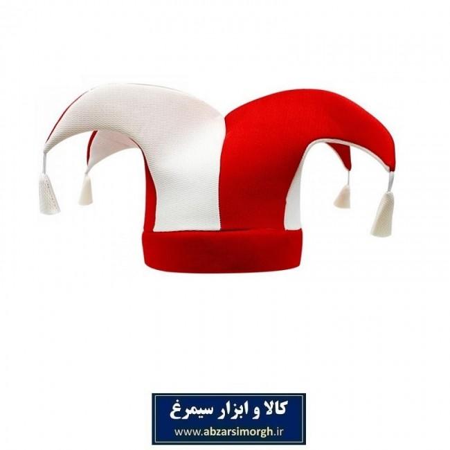 کلاه هواداری باشگاه فوتبال پرسپولیس رنگ قرمز و سفید + پیکسل هدیه VKH-001