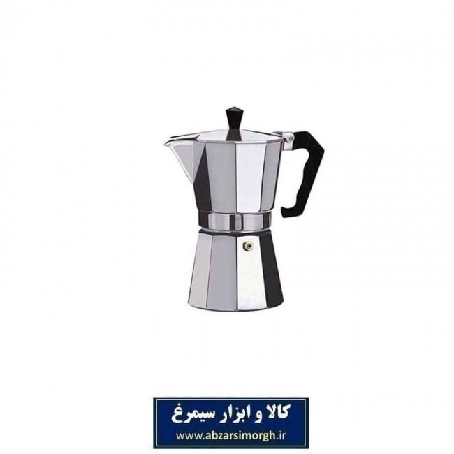 موکاپات یا قهوه جوش اسپرسو ساز دستی آلومینیوم 1 کاپ