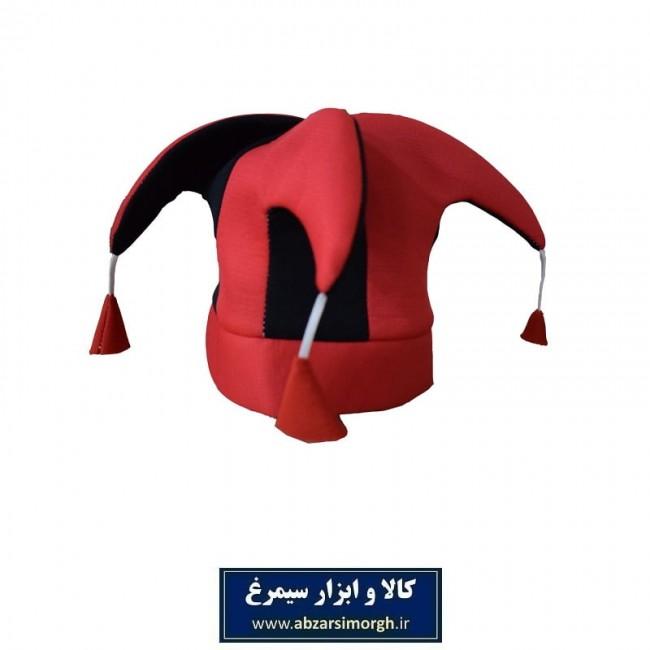 کلاه هواداری باشگاه فوتبال پرسپولیس رنگ قرمز و مشکی + پیکسل هدیه VKH-003