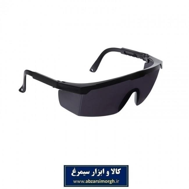 عینک ایمنی طلقی دودی IEI-002