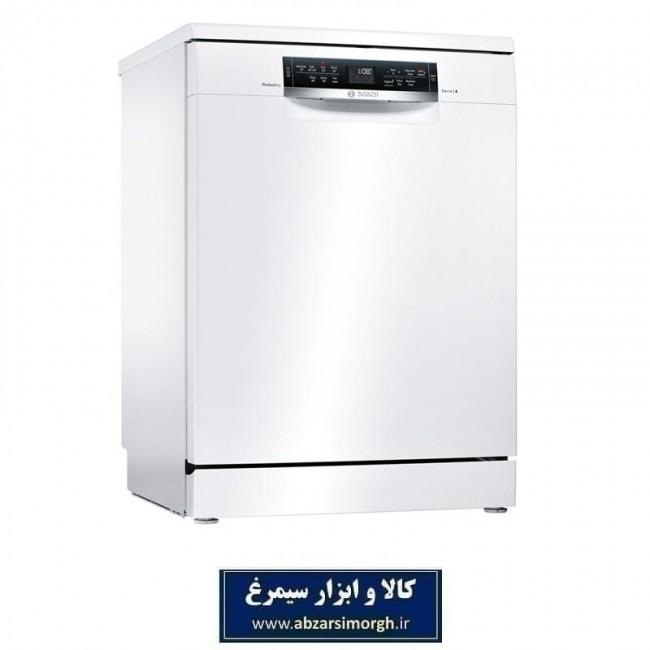 ماشین ظرفشویی سری 6 بوش Bosch مدل SMS68TW02B